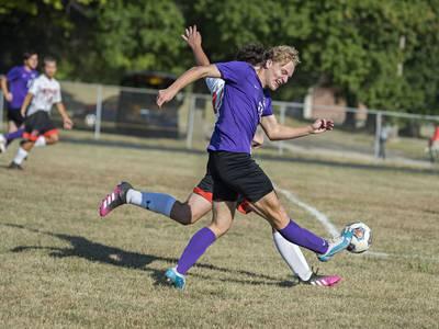 Photos: Dixon hosts Byron Thursday in soccer