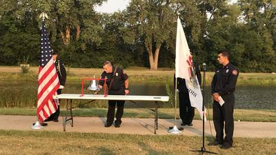 Photos: City of Sycamore officials honor 20 years since 9/11