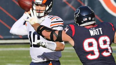 Photos: Bears end losing streak with win over Texans
