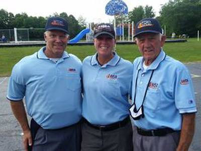 True Blue: Family trio makes most of chance to umpire together