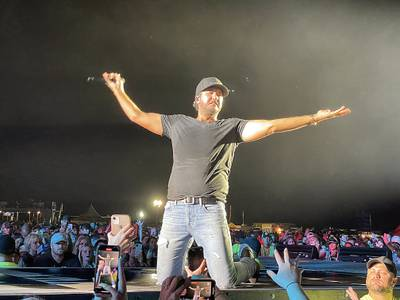 Photos: Luke Bryan sings to 15,000-plus at his Farm Tour in Chillicothe