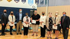 Troy honors retiring staff and principals at all 7 schools