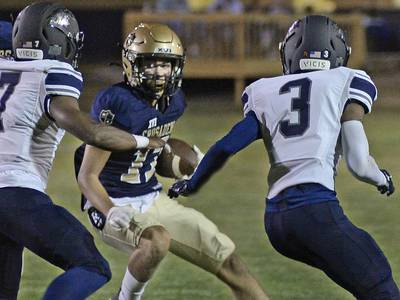 The Times Football Notebook: Javarius Whitfield joins exclusive company in record book; Christian Benning on pace to do the same
