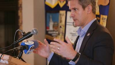 Republican U.S. Rep. Adam Kinzinger says he's seeking truth over emotions on Jan. 6 committee
