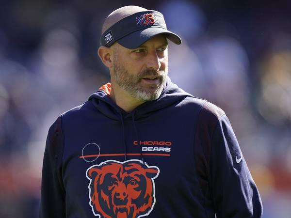Bears head coach Matt Nagy tests positive for COVID-19