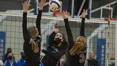 Volleyball: Newman gets rolling in TRAC East win over Kewanee