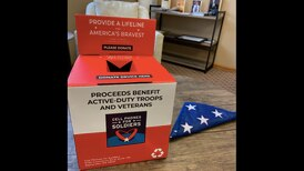 Ozinga aims to collect phones to give to soldiers and veterans
