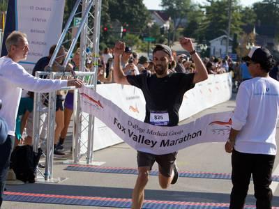Runners face heat as Fox Valley Marathon returns