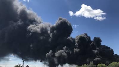 Photos: Rockton Chemtool fire smoke travels for miles across northern Illinois