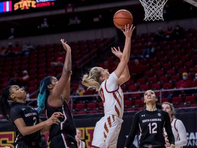 'It just happened to be that it was Iowa:' Sycamore grad Kylie Feuerbach transfers from Iowa State to Hawkeyes