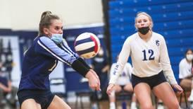 Photos: Plainfield North girls volleyball visits Plainfield South