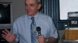 Tampico historians hear Billy Sunday presentation