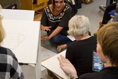 College of Lake County offers free art workshops in Waukegan
