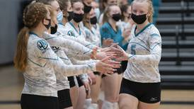 Volleyball notes: Woodstock North prepares for tough postseason assignment