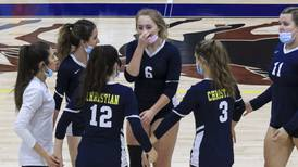 Girls Volleyball: Zoe Schuberth, Yorkville Christian celebrate Senior Night in record fashion, look ahead to playoff run