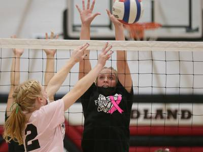 Volleyball: Woodland earns thrilling 3-set Tri-County win over Seneca