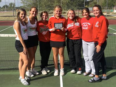 Roundup: L-P girls tennis places second at own invite