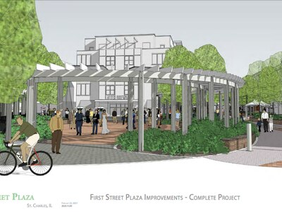 St. Charles officials to break ground Wednesday on First Street Plaza expansion project