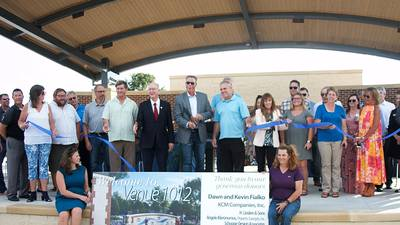 Oswego's new Venue 1012 for outdoor entertainment launches