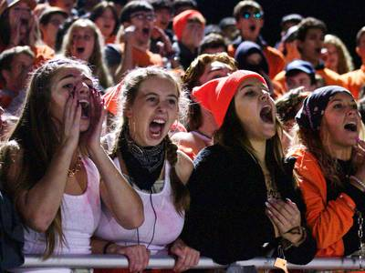 GALLERY: Crowds fill stands for the OHS/OEHS Crosstown Challenge varsity football game