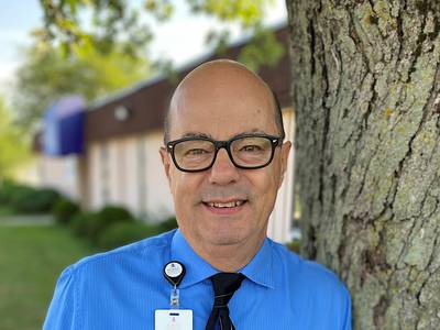 Morris Hospital September Fire Starter honored for exemplary service to others