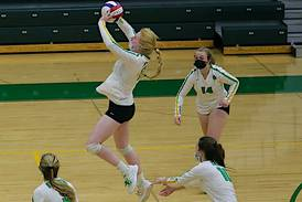 Volleyball: Top-seeded Seneca upset in regional semifinal by Prairie Central