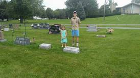 Genoa teen completes Eagle Scout project at Genoa Cemetery