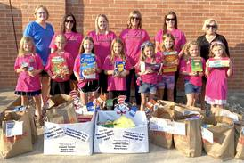 Putnam County Girl Scouts hold food drive