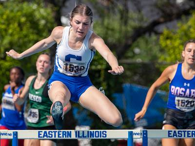 Girls Track and Field: Burlington Central's Brooke Barkocy cleared huge mental hurdle to become state hurdles champion