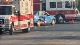 DeKalb police investigate crash at First, Pine Streets Thursday