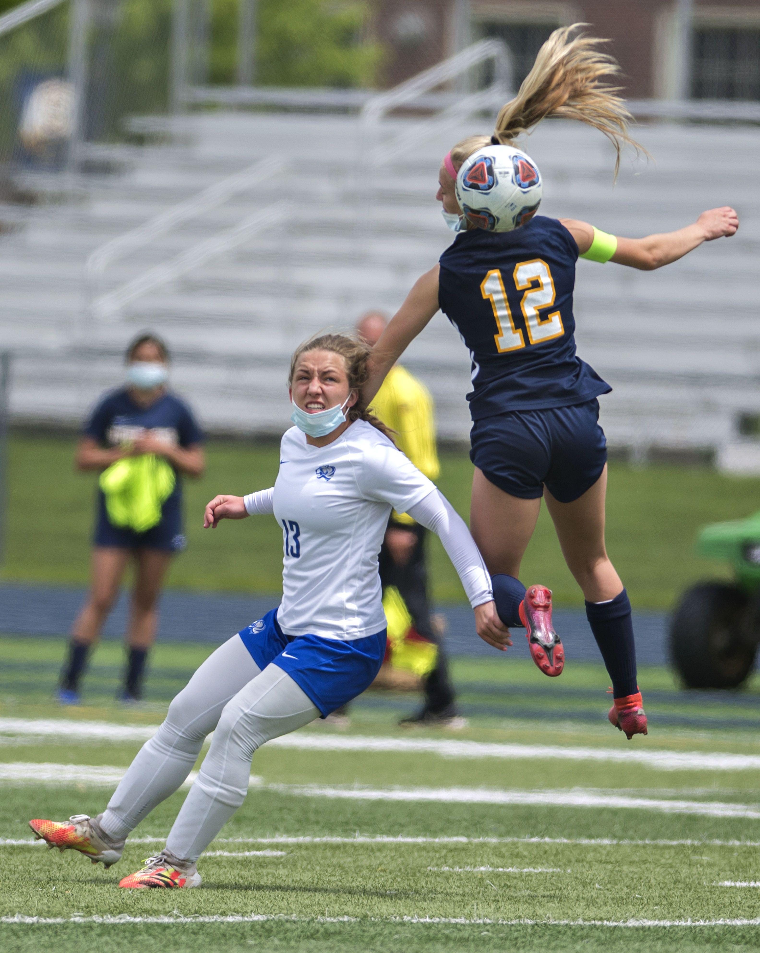Sterling girls soccer rallies past Princeton
