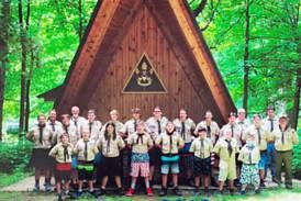 BSA Troop 2810 enjoys summer camp