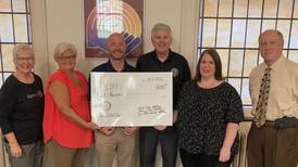 Rotary clubs present $8,000 to LIFE book program in Whiteside County