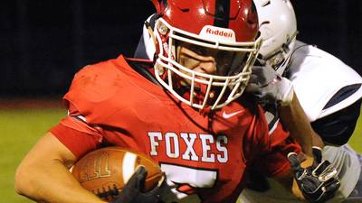 Kendall County football notes: Speedy Yorkville safety Andrew Garton shows he has quick hands too