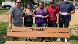 Solorio family in DePue awards scholarship
