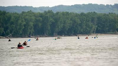 Photos: Senachwine Lake Kayak/Canoe/Boat Float trip to Henry