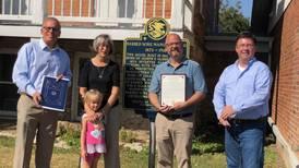 Rep. Keicher, Sen. Syverson mark 160th anniversary of Glidden Homestead