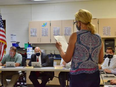 Sycamore school board fields parent pushback on quarantine learning