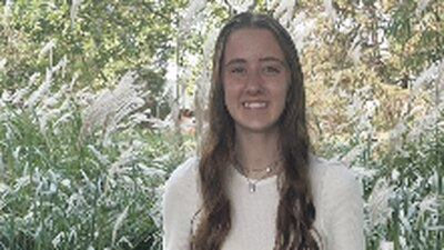 Lauren Tarr, Amboy High's September Student of the Month