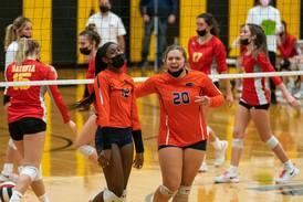 Photos: Oswego vs. Batavia, regional volleyball