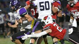 Stillman Valley rushing game too much for Dixon in 20-14 win over Dukes