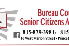 Bureau County Senior Citizens Association will meet in Van Orin Oct. 29
