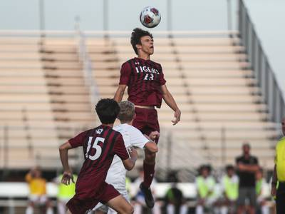 Photos: Lincoln-Way Central boys soccer visits Plainfield North