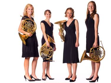 Bethany Lutheran's Art Series to return with  ALLOY Horn Quartet