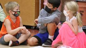 Photos: Sycamore students adjust to wearing masks