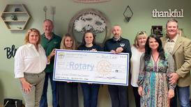 Rotary Club of Lake in the Hills donates to three animal rescues