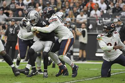 Bears injury report: Khalil Mack remains absent from practice Friday