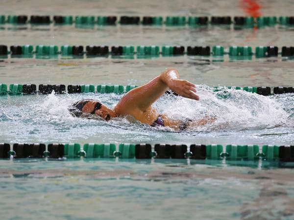 Photos: Woodstock North co-op Girls Swimming Invite