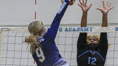 Photos: Nazareth vs. Joliet Catholic girls volleyball