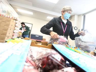 Food pantries in La Salle, Bureau counties bracing for surge in demand this winter